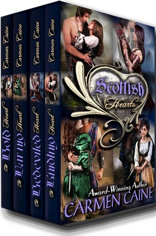 The Scottish Hearts Collection (Highland Heather and Hearts Scottish Romance #1-4)