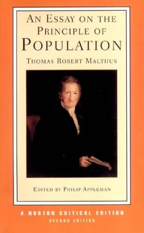 An Essay On The Principle Of Population By Thomas Robert Malthus  English Language Essay also My English Class Essay  Compare And Contrast Essay Topics For High School Students