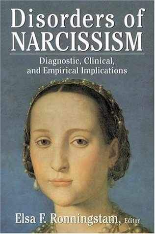 Disorders of Narcissism by Elsa F. Ronningstam