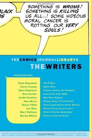 The Comics Journal Library, Vol. 6: The Writers