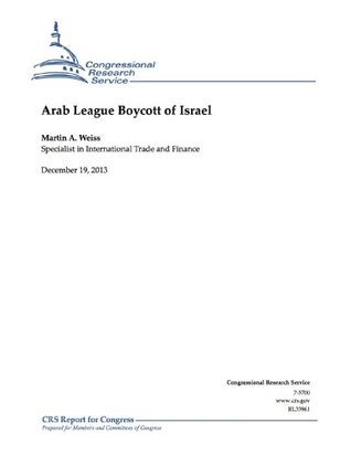 Arab League Boycott of Israel