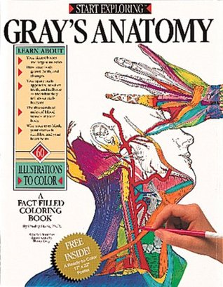 Gray S Anatomy A Fact Filled Coloring Book By Freddy Stark