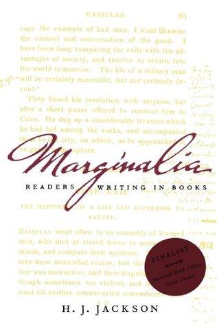 Marginalia by H.J. Jackson