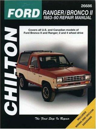 Ford: Ranger/Bronco II 1983-90 Repair Manual