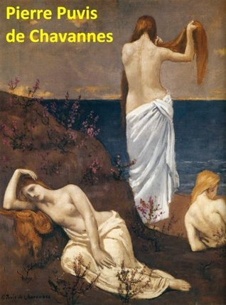 70 Color Paintings of Pierre Puvis de Chavannes (Pierre-Cécile Puvis de Chavannes) - French Symbolist Painter (December 14, 1824 - October 24, 1898)
