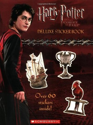 Harry Potter And The Goblet of Fire: Sticker Book: Sticker Book