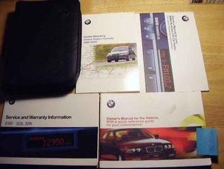 2000 BMW 323i 328i Owners Manual