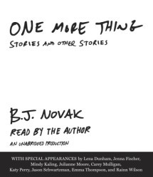 One More Thing Stories And Other Stories By B J Novak