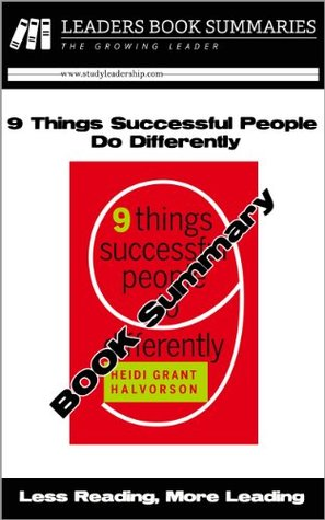 9 Things Successful People Do Differently - Book Summary