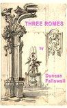 Three Romes (Kindle Singles)