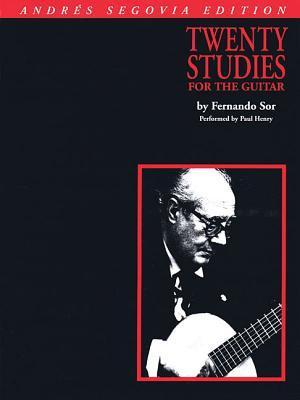 Andres Segovia - 20 Studies for Guitar: Book Only