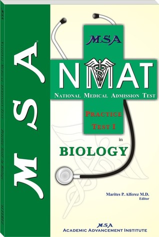MSA NMAT Practice Test I in Biology