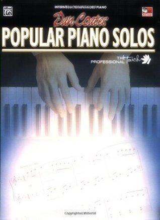 Dan Coates Popular Piano Solos: Advanced Piano Solos