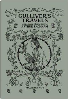 Gulliver's Travels par Jonathan Swift, Arthur Rackham