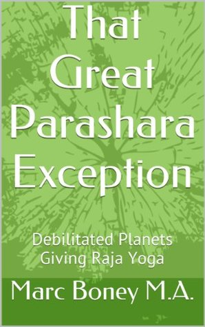 That Great Parashara Exception