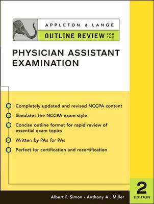 Appleton & Lange Outline Review for the Physician Assistant Examination, Second Edition