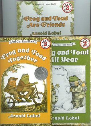 Frog and Toad are Friends & Frog and Toad Together & Frog and Toad All Year ; Lot of 3 I Can Read Level 2 ; 1st 2nd 3rd Grades