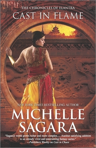 Book Review: Michelle Sagara's Cast in Flame