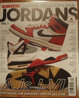 SLAM KICKS Presents JORDANS Special Collector's [Single Issue Magazine] Vol.1