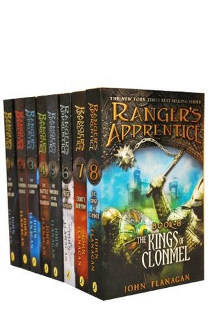 Rangers Apprentice Bundle Books 1-8 by John Flanagan