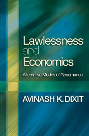 Lawlessness and Economics book cover