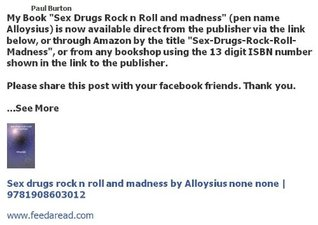 Sex Drugs Rock n Roll and Madness