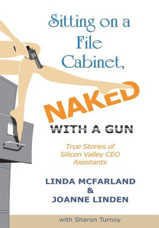 Sitting on a File Cabinet, Naked, With a Gun