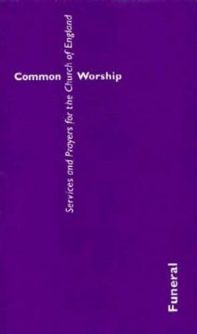 Common Worship: Funeral Booklet