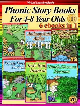 6 Phonic Story Books For 4-8 Year Olds Collection 1 (6 Ebooks In 1: Books 01 to 06) For Kids (Phonic Ebooks: Childrens Picture Book (Peekaboo: Everyday Stories Collection))