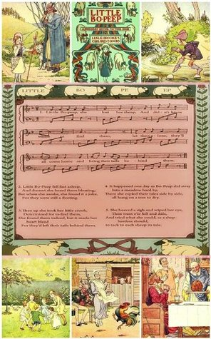 Little Bo-Peep & Ring O' Roses with music sheet and others tales (Nursery Rhymes & Children Picture Book for age 3-10) Illustrated with original and new pictures with Bo-Peep and Ring O' Rose History