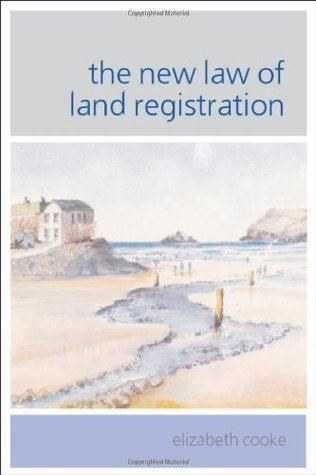 The New Law of Land Registration: 1