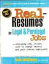 Real-Resumes for Legal & Paralegal Jobs (Real-Resumes Series)