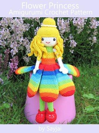 Flower Princess Amigurumi Crochet Pattern