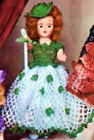 IRISH COLLEEN DOLL - A Vintage 1951 Crochet Pattern ~ Kindle eBook Download