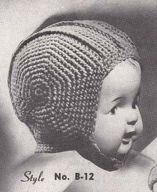 Infant's Crochet Helmet Pattern Baby Hat Cap Bonnet EBook Download