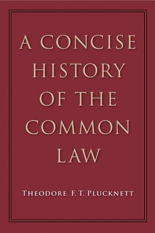 A Concise History of the Common Law (NONE)