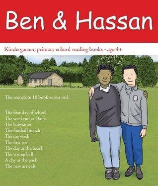 Ben and Hassan - Kindergarten, primary school reading books - 10 books - Age 4+