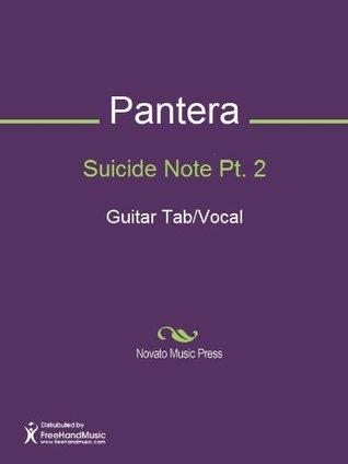 Suicide Note Pt. 2