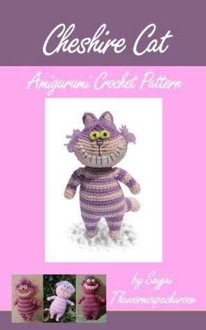 Cheshire Cat Amigurumi Crochet Pattern