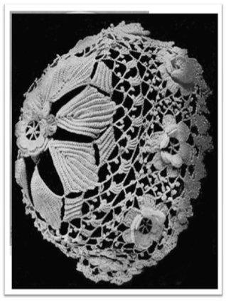 #2815 Irish Lace Baby Bonnet Vintage Crochet Pattern