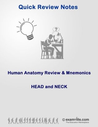Human Anatomy Review & Mnemonics: Head and Neck (Quick Review Notes Book 1)