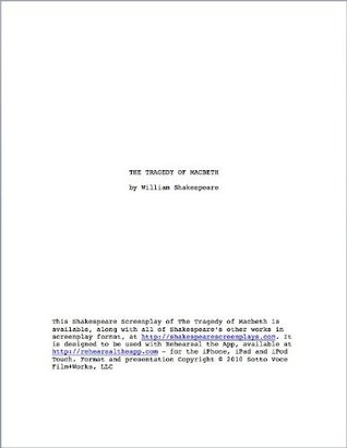 Macbeth - Shakespeare Screenplay Edition