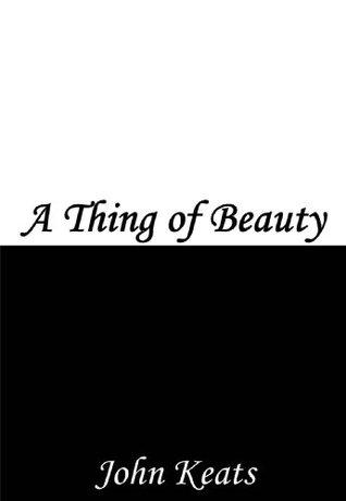 keats concept of beauty