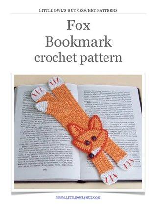 Fox bookmark Crochet Pattern Amigurumi toy (LittleOwlsHut) (Crochet bookmark)