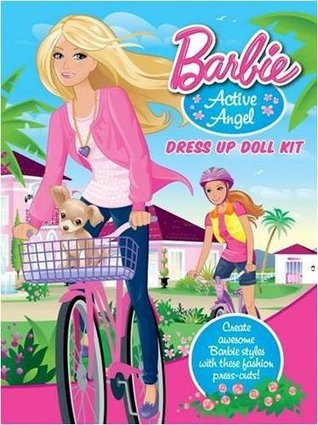 Barbie Dress Up Doll Active Angel