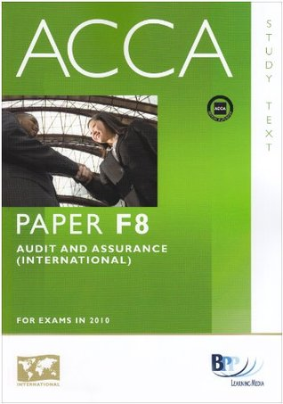 Acca F8 Audit And Assurance (Int)