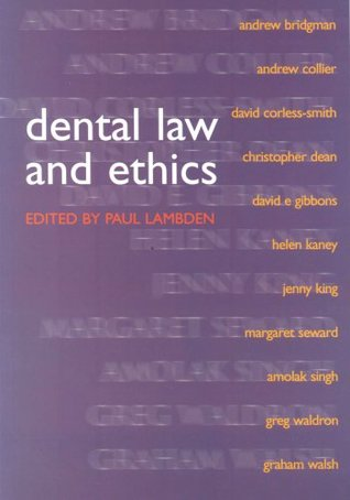 Dental Ethics And Laws