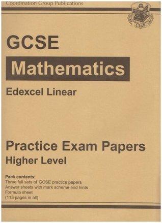 Gcse Maths Edexcel Linear Practice Papers