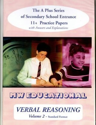 Verbal Reasoning: With Answers v. 2: The A Plus Series of Secondary School Entrance 11+ Practice Papers