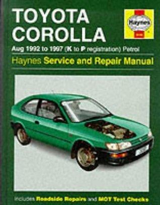 Toyota Corolla 1992-97 Service and Repair Manual